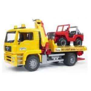 משאית גרר עם ג'יפ – ברודר