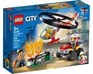 lego צוות תגובה עם מסוק כיבוי אש 60248
