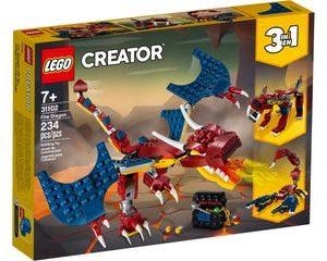 lego דרקון אש 31102