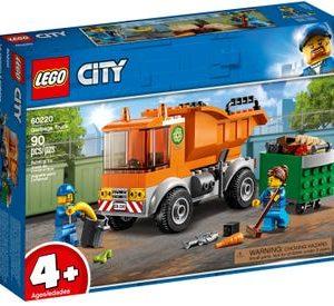 lego משאית זבל 60220