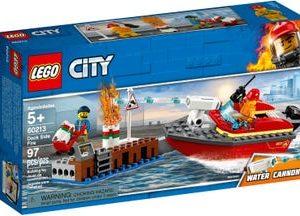 אש בצד המזח 60213 – LEGO